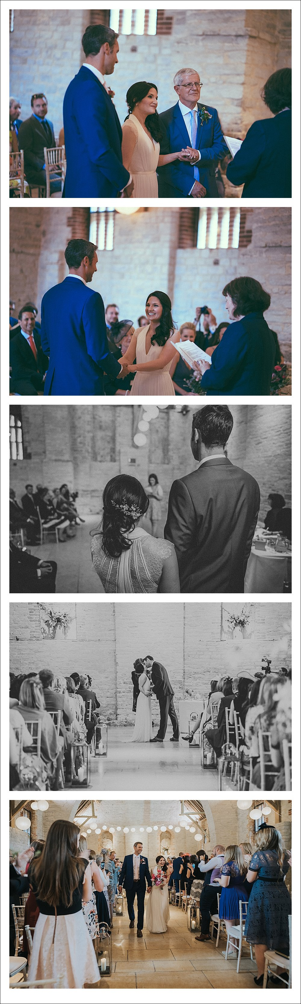Bride & Groom Photography Tithe Barn Wedding