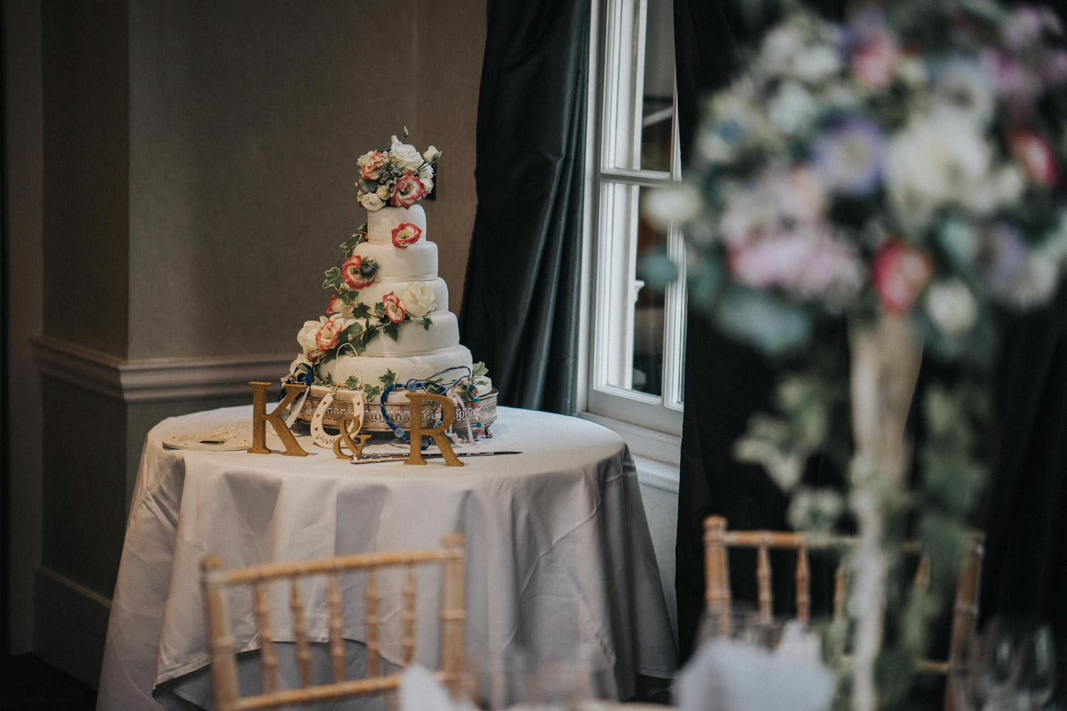 Chilston Park Hotel Wedding Cake