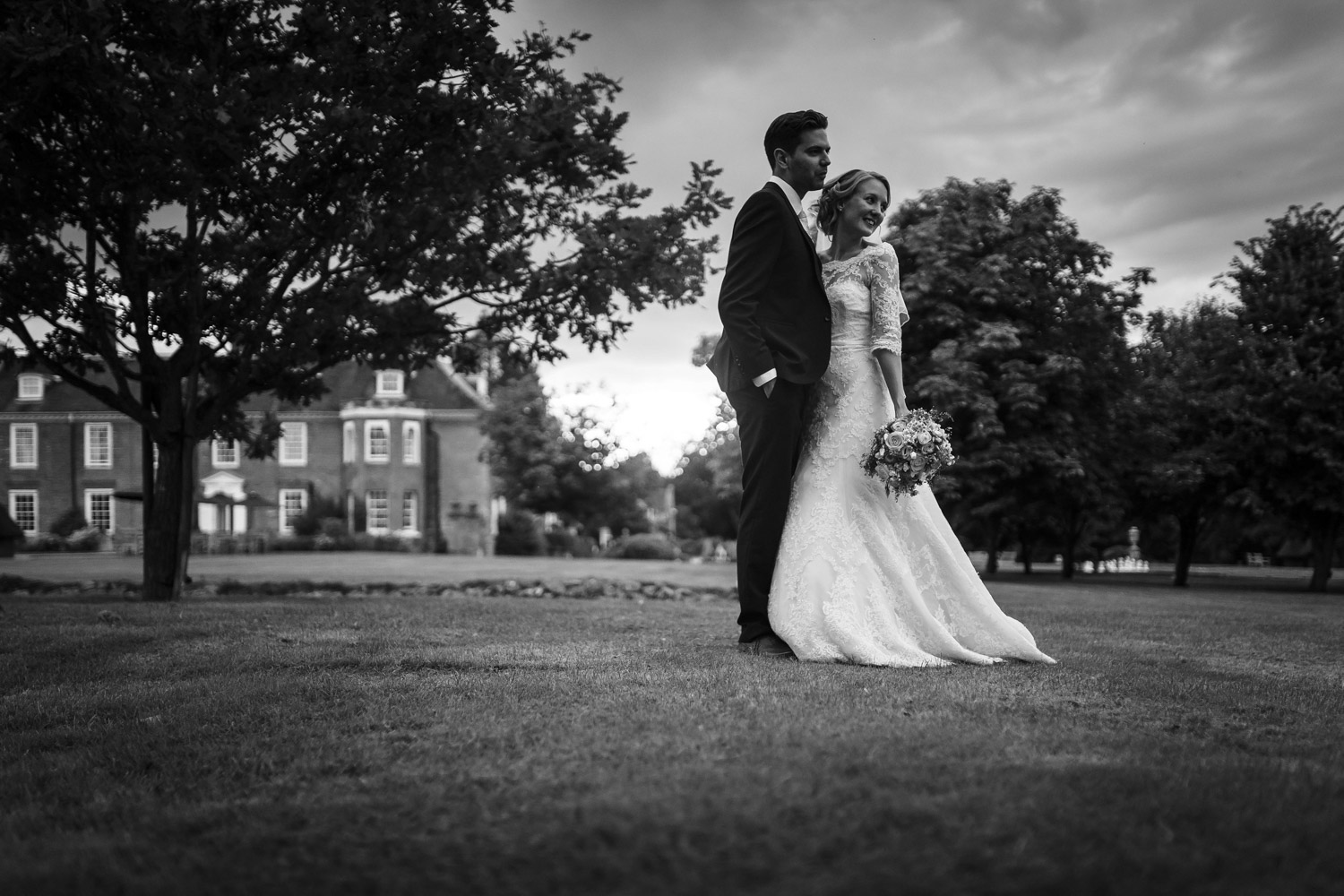 Bridal Portraits at Chilston Park Hotel Kent