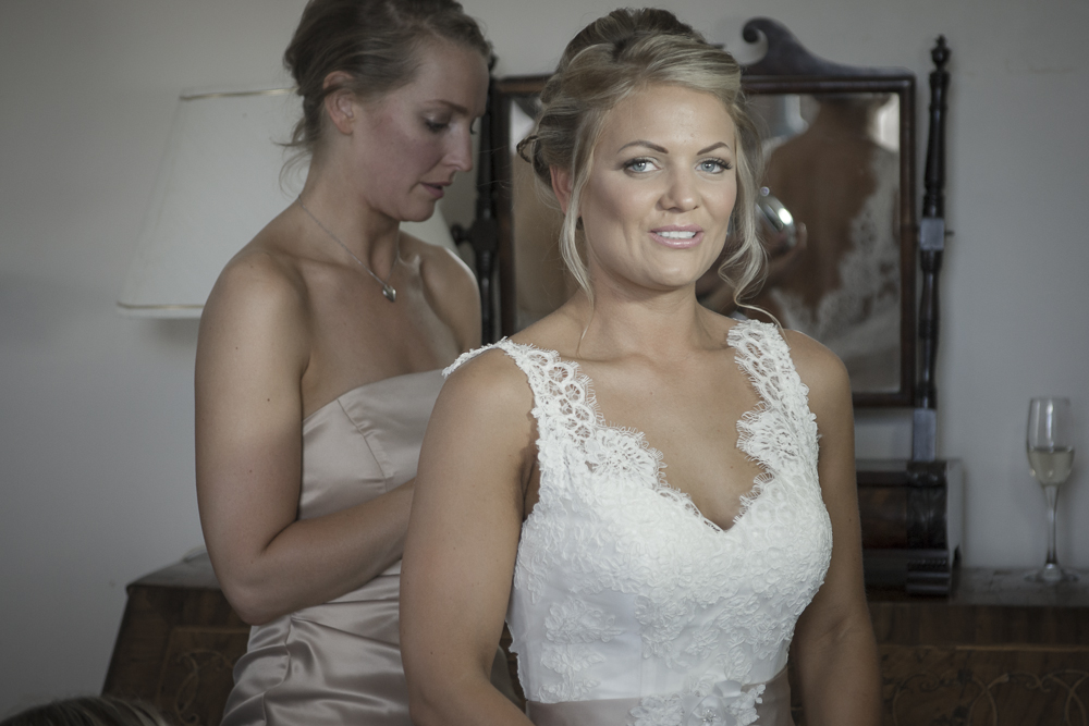Chilston Park Bridal Preparation Photography