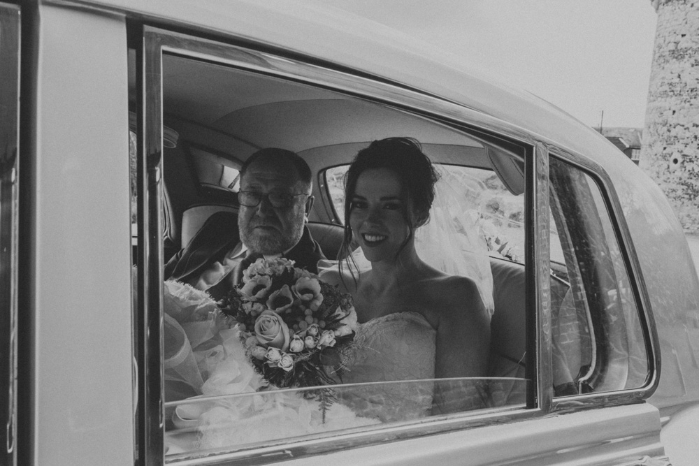 Lucy & James Wedding Photography at Cooling Castle by Chris Deller Photography