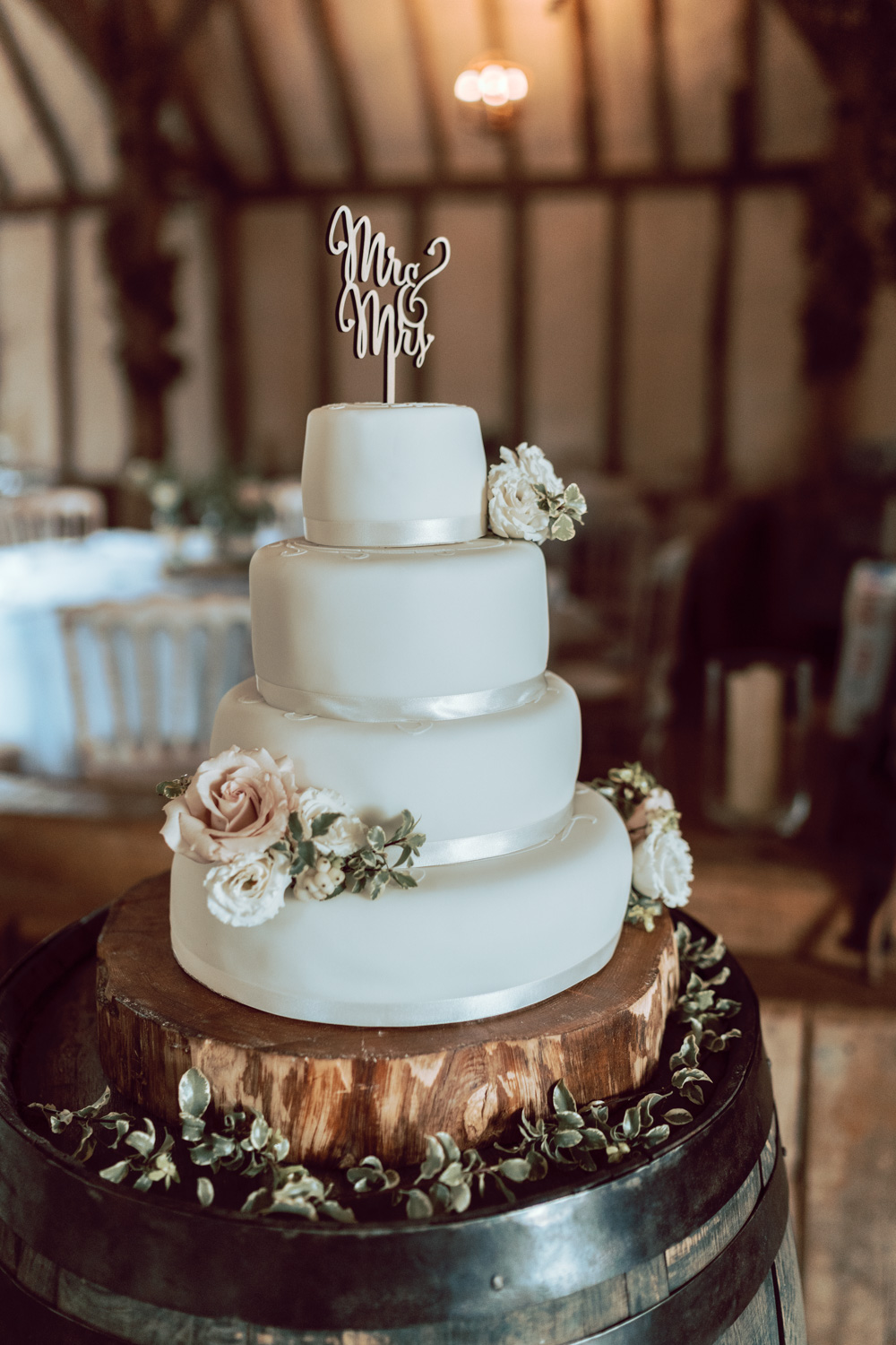 Winters Barns Wedding Photography Wedding Cake